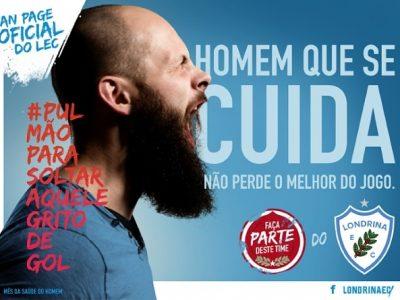 Novembro Azul 2016 - Campanha LEC - Londrina Esporte Clube