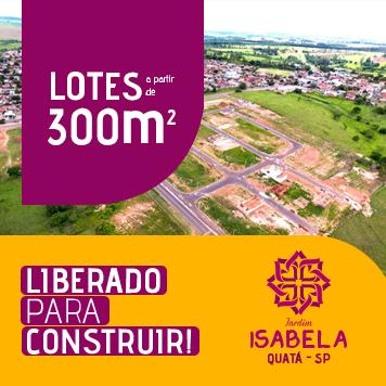 Loteamento Jardim Isabela - Quatá - SP