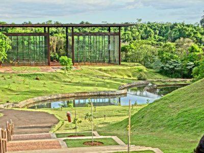 O Jardim Botânico de Londrina mescla tranquilidade e beleza no mesmo cenário