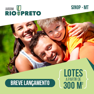 Loteamento Jardim Rio Preto - Sinop - MT