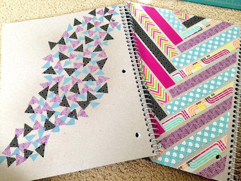 Personalização da capa de caderno