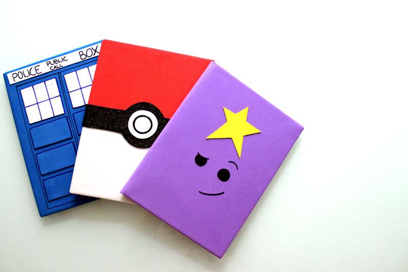 Personalize os materiais escolares