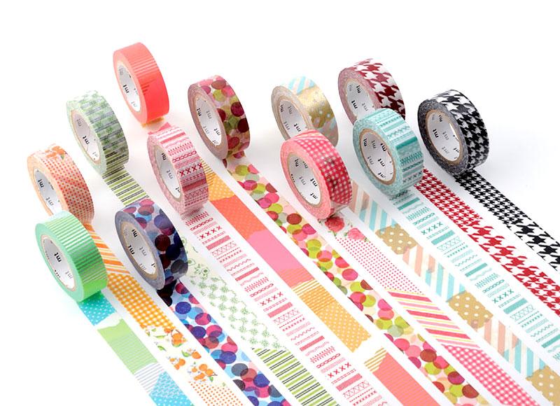 Fitas adesivas decorativas - Washi Tape