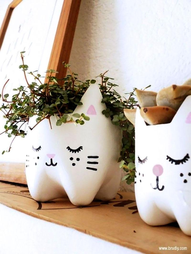 Cachepot de gatinhos