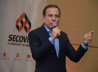 João Doria na SECOVI - SP