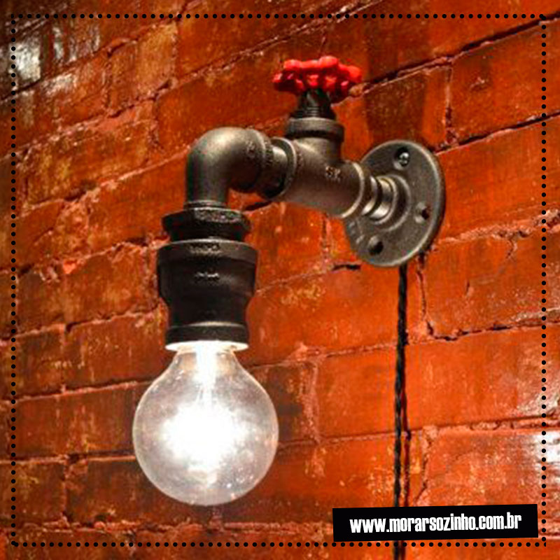 Luminária torneira