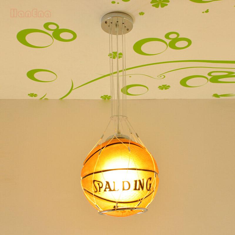 Luminária cesta de basquete