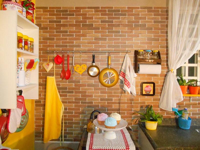 Cozinha decorada sem gastar muito