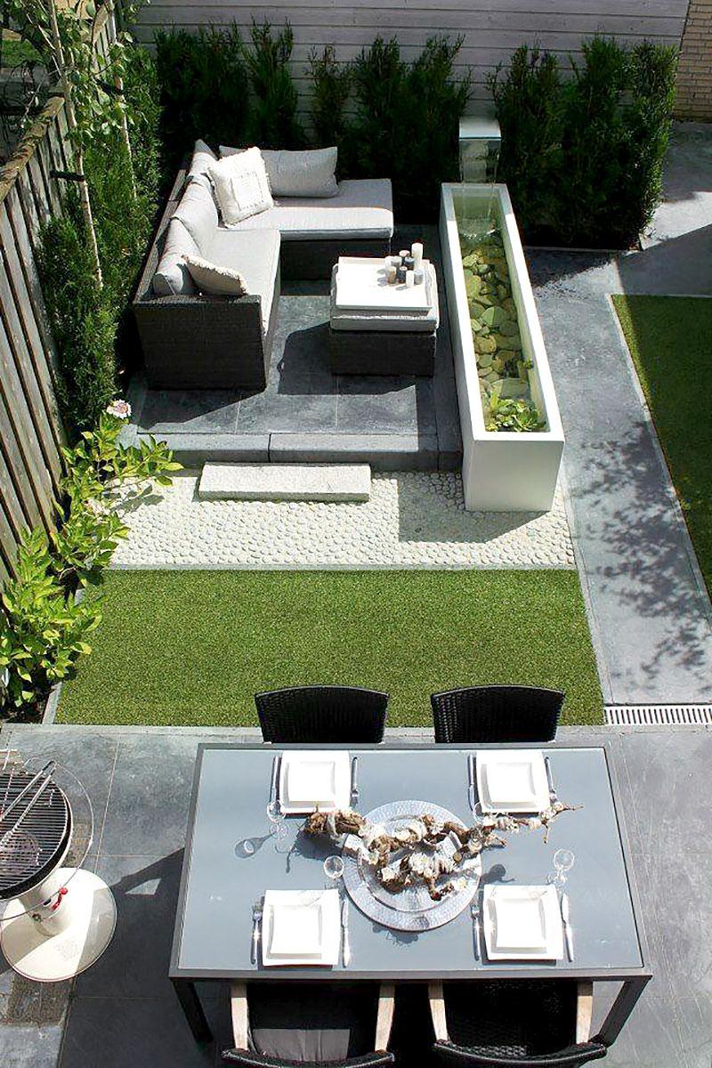 Tendências mais geométricas e clássicas para o quintal