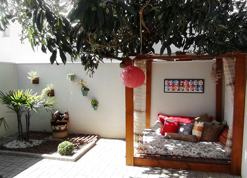 Espaço Zen para o quintal de casa