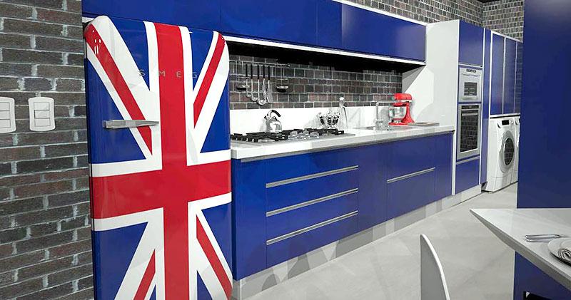 Geladeira - Bandeira Britânica