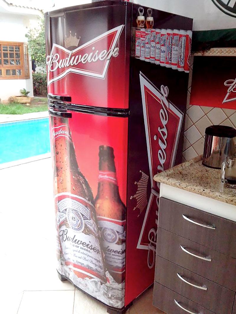 Geladeira - Budweiser