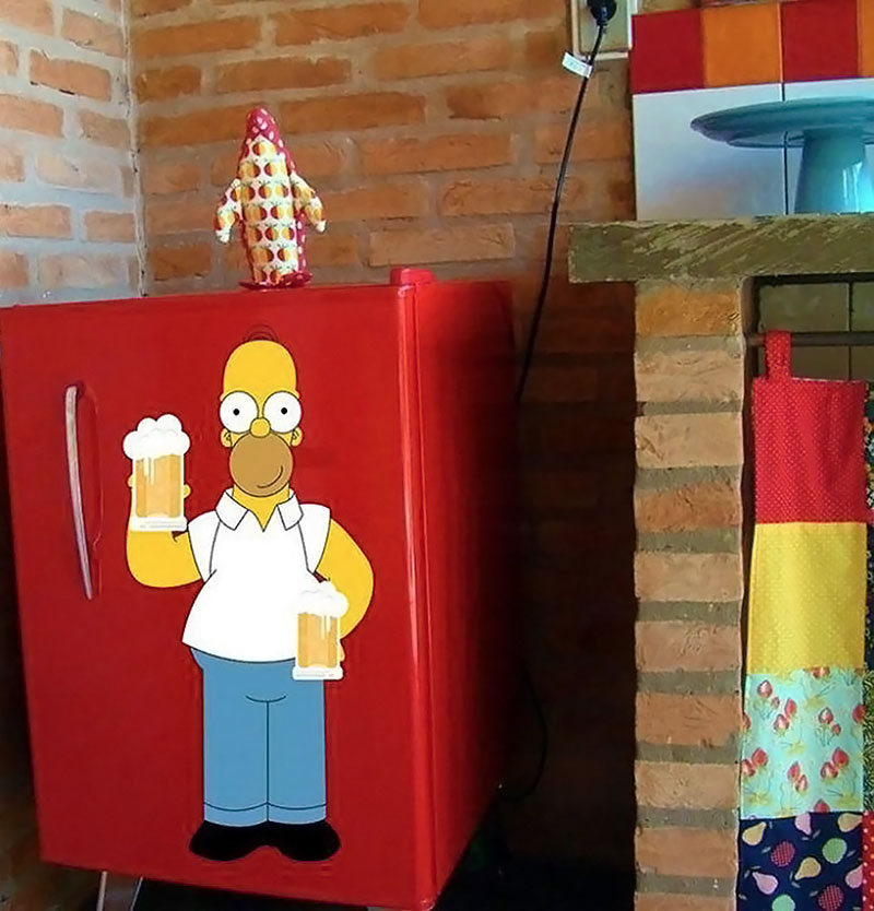 Geladeira - Homer Simpson