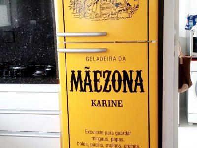 Geladeira envelopada - Maizena