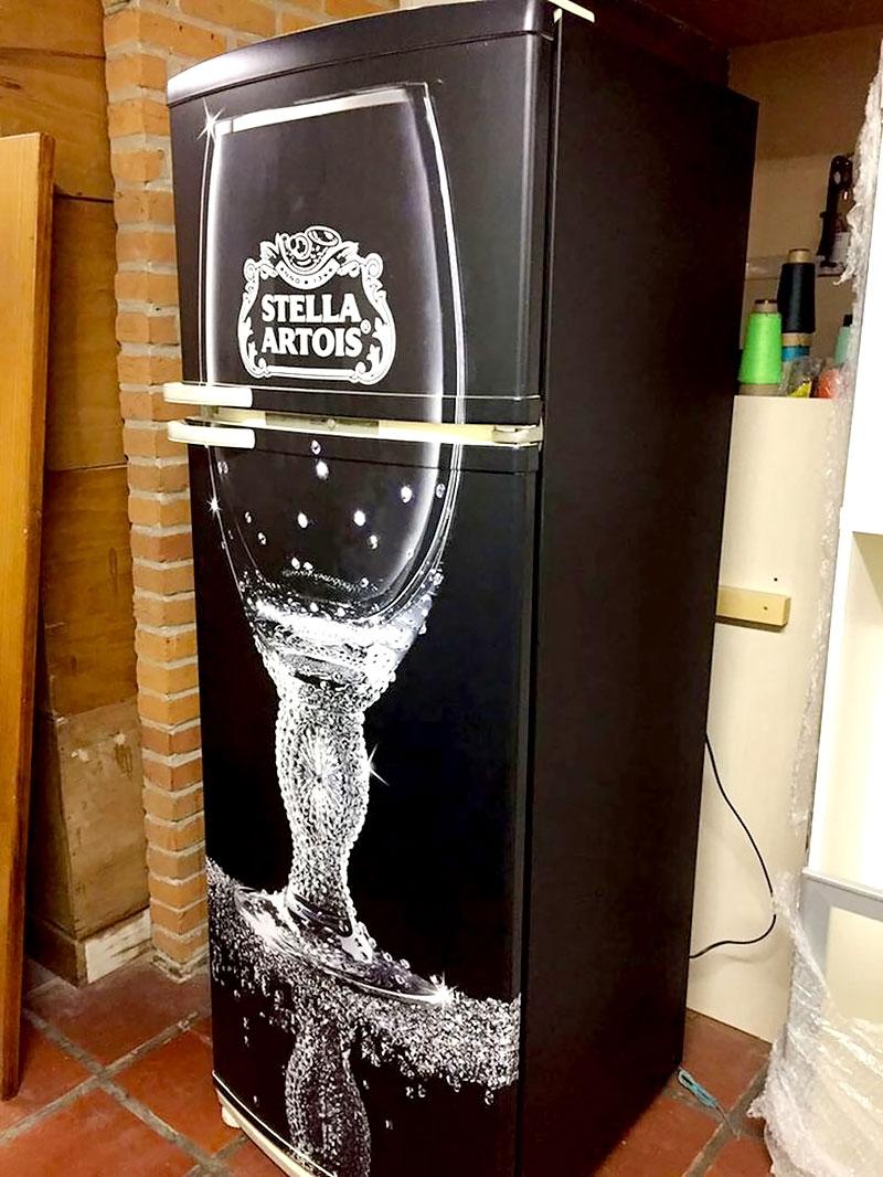 Geladeira - Stella Artois