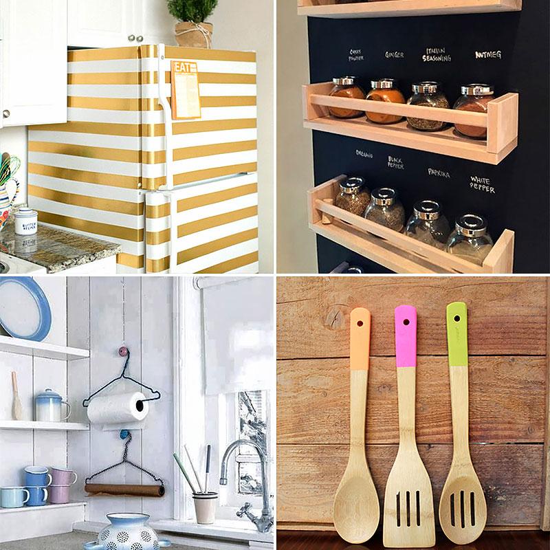 Ideias práticas e bonitas para organizar e decorar a cozinha