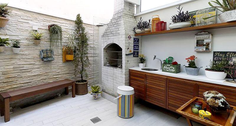 Jardim Vertical para área de lazer