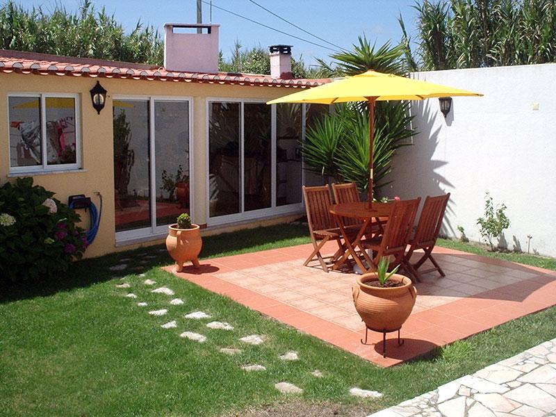 Decoração moderna para quintal pequeno