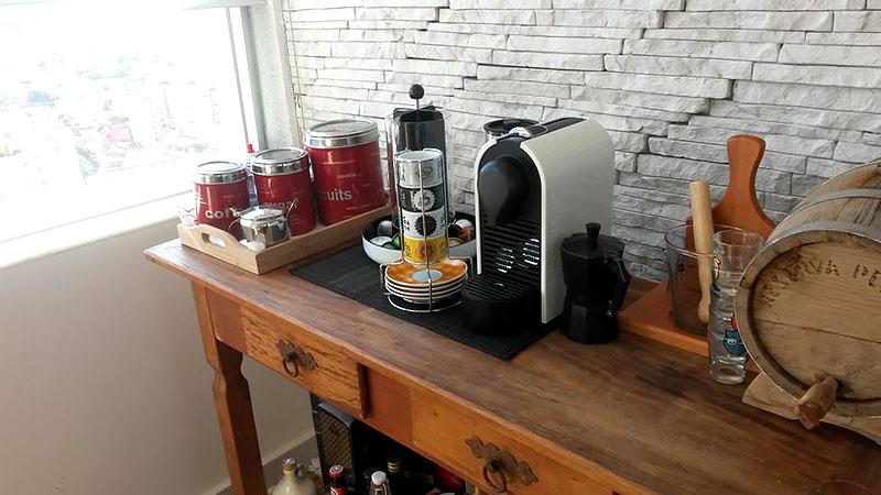 Balcão de bebidas para espaço café