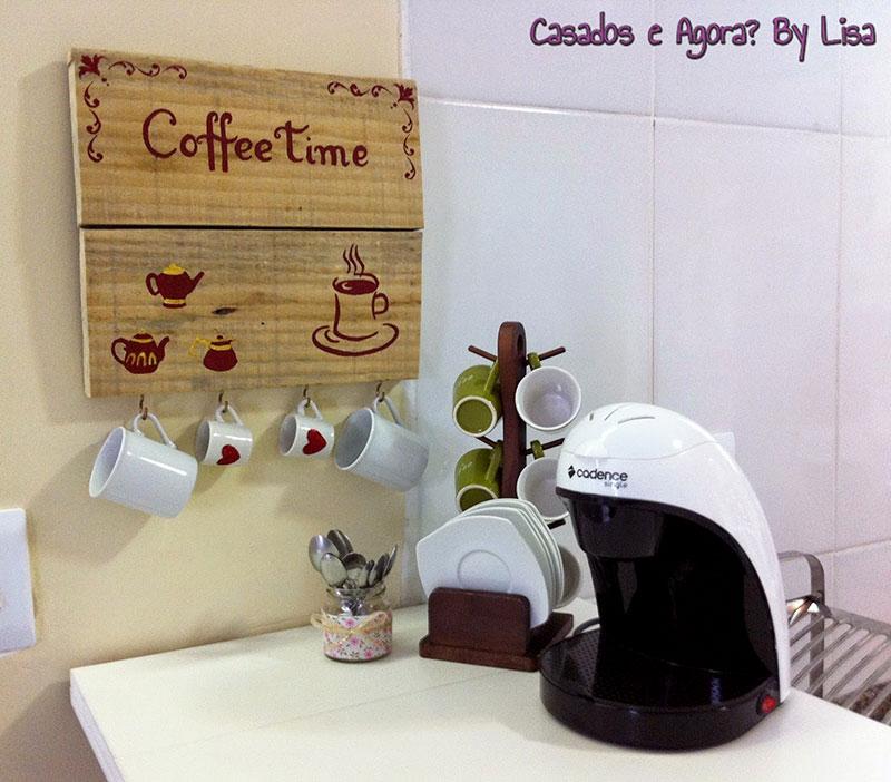 Cantinho do café simples e aconchegante