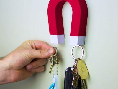 Porta-chaves criativo Imã