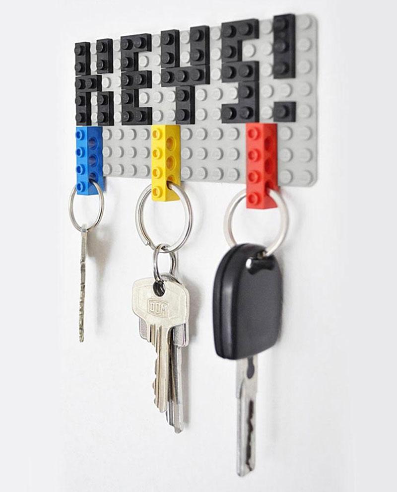 30 Modelos de porta-chaves geniais para ter em casa - HF Urbanismo cc4cffc634