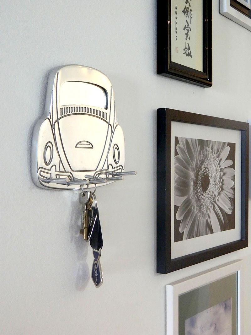 51758b117 30 Modelos de porta-chaves geniais para ter em casa - HF Urbanismo