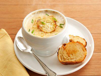 Receitas de inverno - Sopa de Cebola