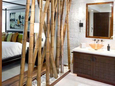 Divisória de ambiente: Bambú