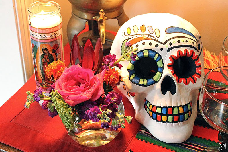 Noite Mexicana: Bolo de Caveira
