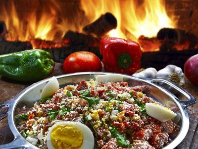 Gastronomia Paranaense: Feijão Tropeiro