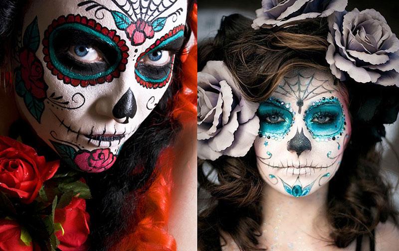 Noite Mexicana: Maquiagens especiais do México