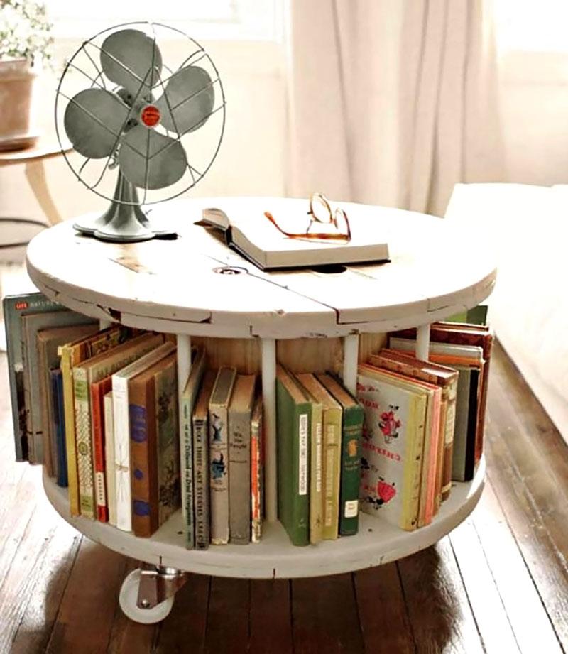 DIY: Mesa de centro feito com Carretel