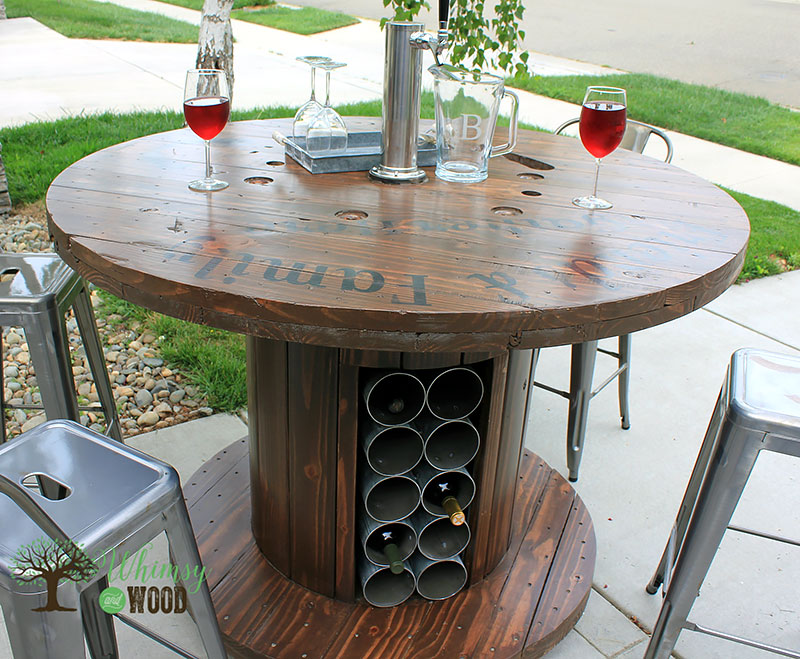 DIY: Carretel de madeira