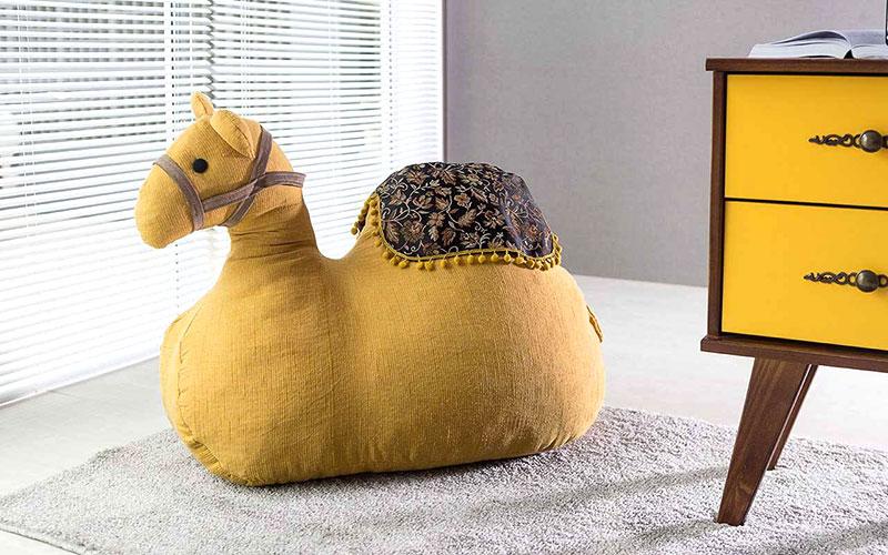 Puff Camelo - Decoração criativa