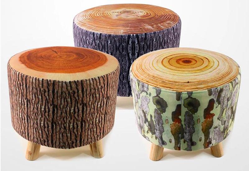 Puff de tronco de árvore