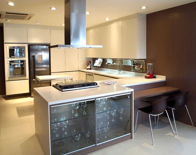Cozinha Americana - Móveis sob medida