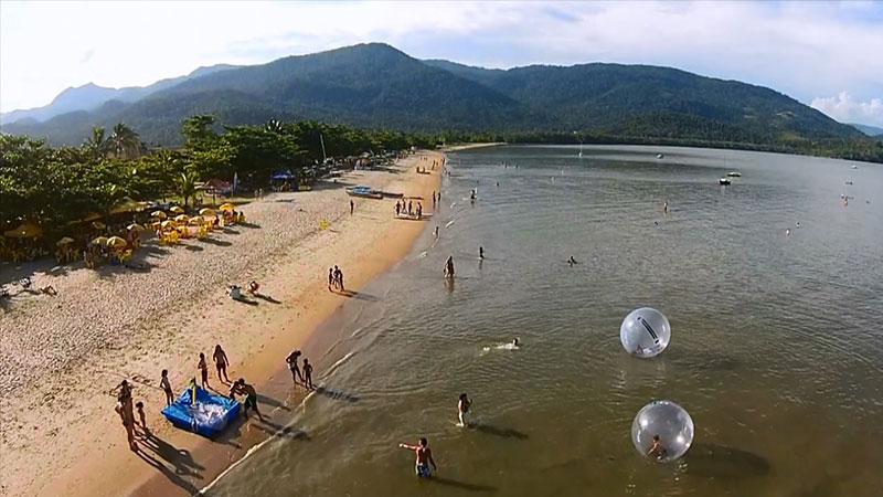 Praia do Jabaquara em Paraty - RJ
