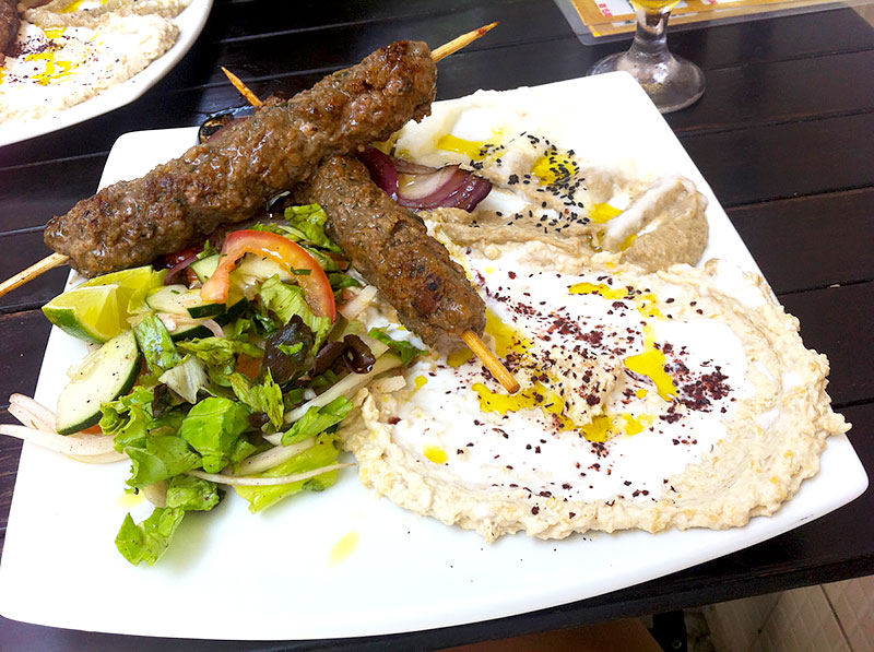 Receita árabe de Kafta