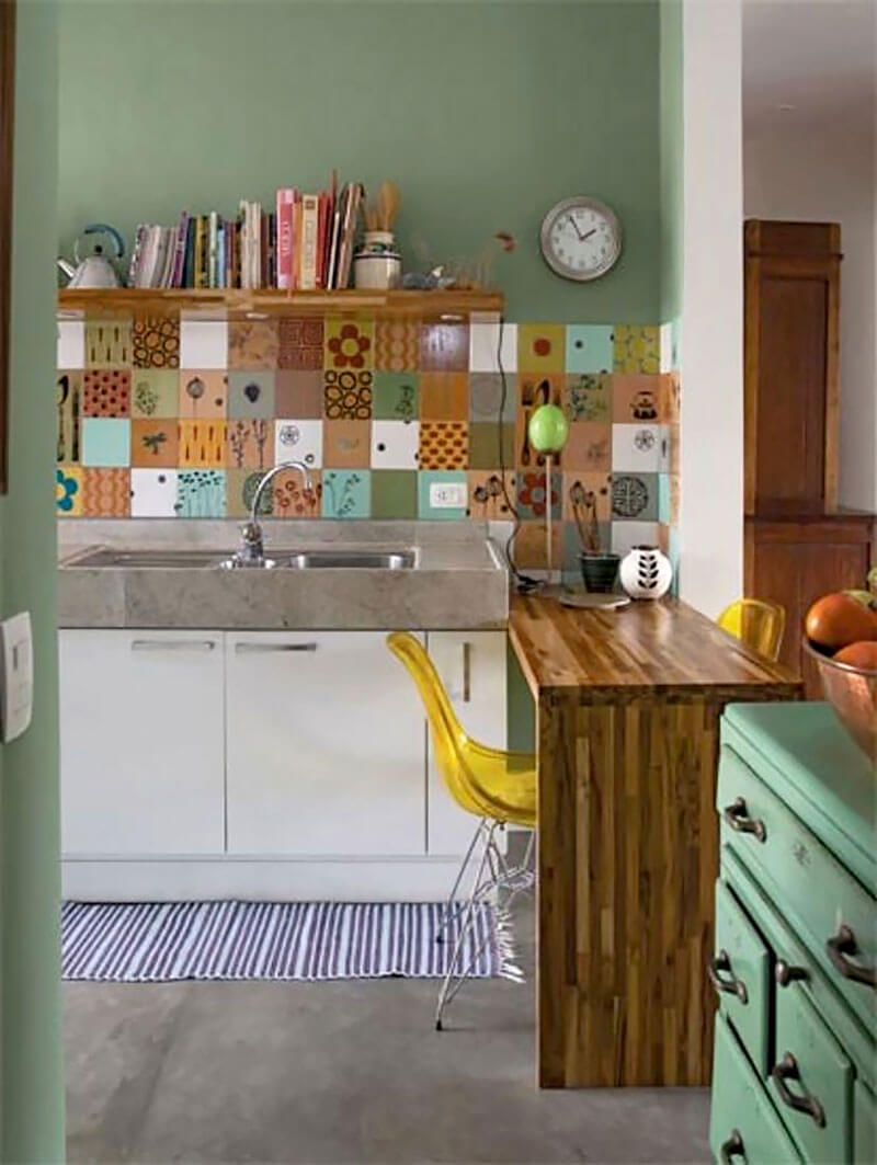 Revestimento para parede - Mosaico Cozinha Americana
