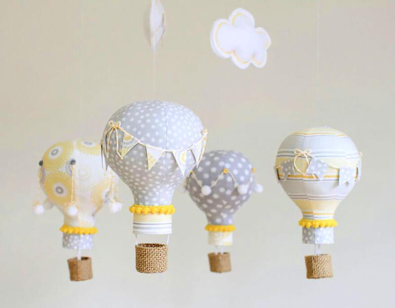 Lâmpadas estilo balões