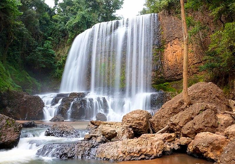 Cachoeira do Astor em Brotas - SP