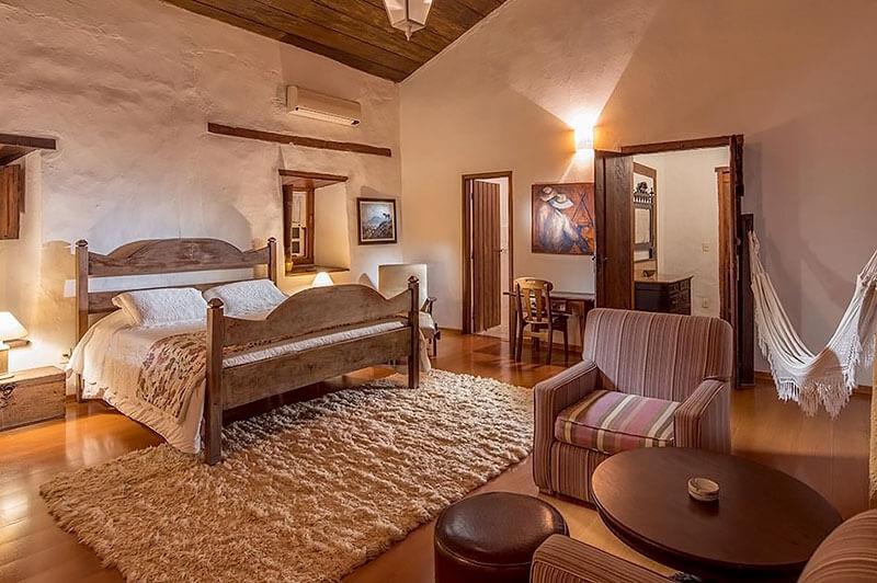 Casarão - Hotel Fazenda Capoava em Itu - SP