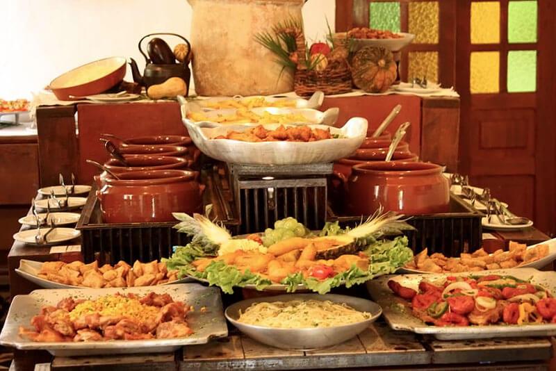 Gastronomia da Fazenda Capoava