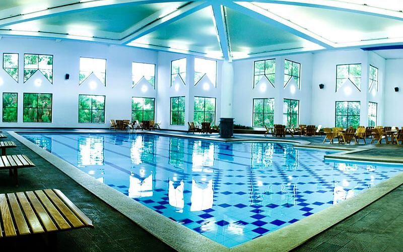 Piscinas de água minderal - Hotel Vacance