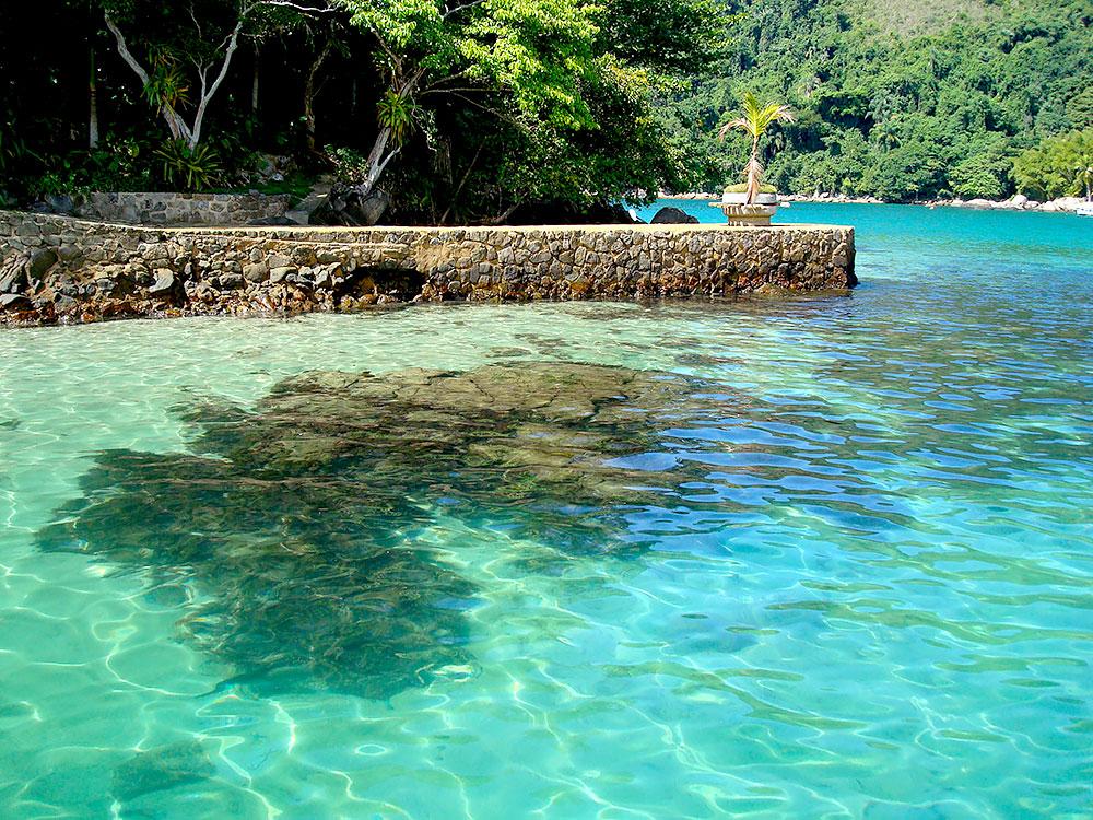 Canal do Cristo - Ilha da Pescaria em Paraty