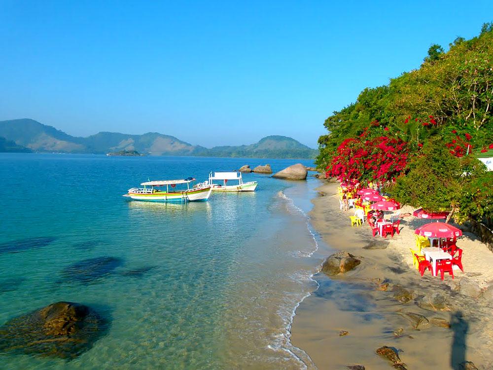 Ilha do Pelado, Paraty divisa com Angra dos Reis