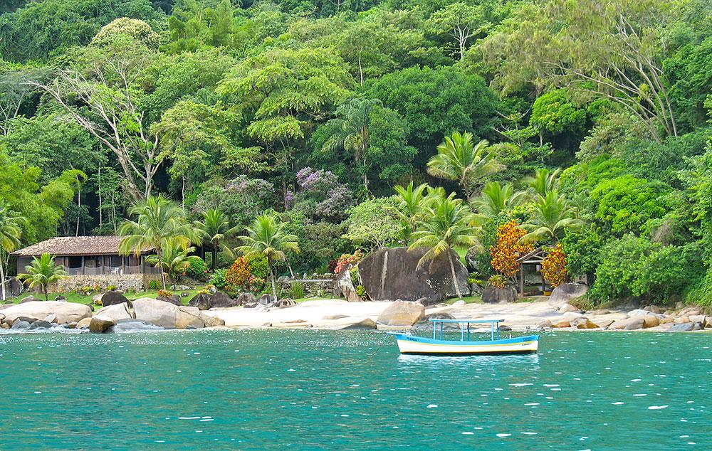 Ilha do Algodão em Paraty - RJ