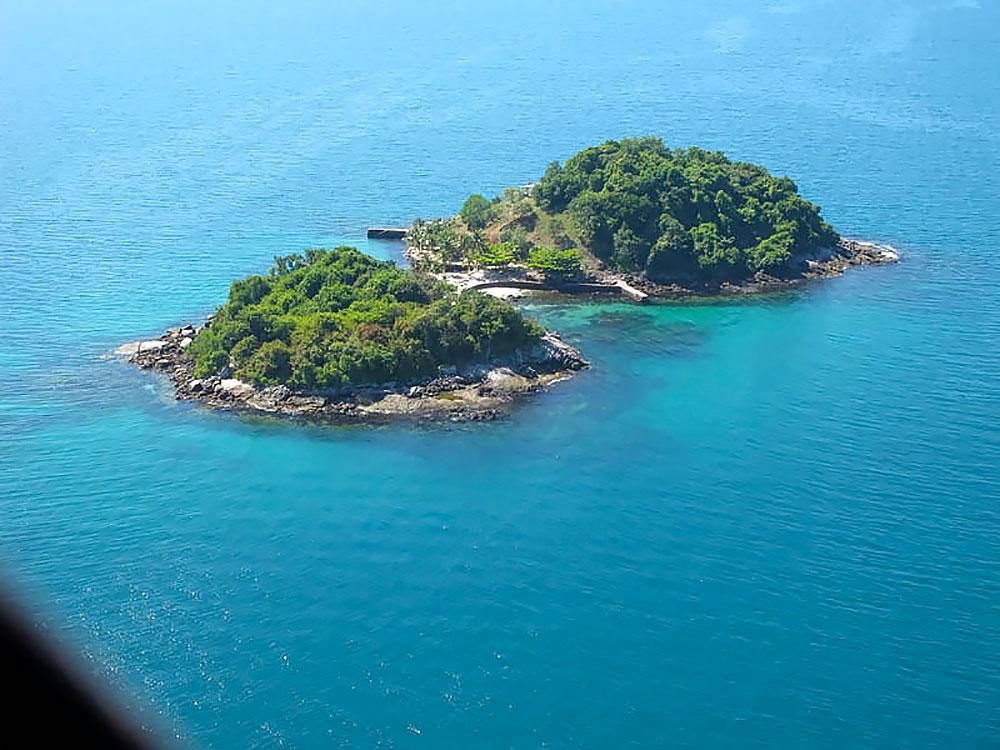 Ilhas Duas Irmãs, as Gêmeas - Paraty - RJ