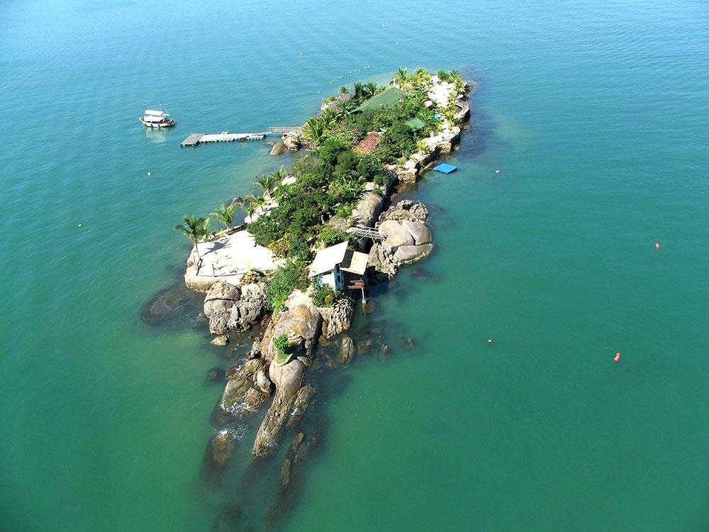 Ilha Rasa em Paraty - RJ